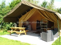 Luxury canvas living camping tent living tent living room ...