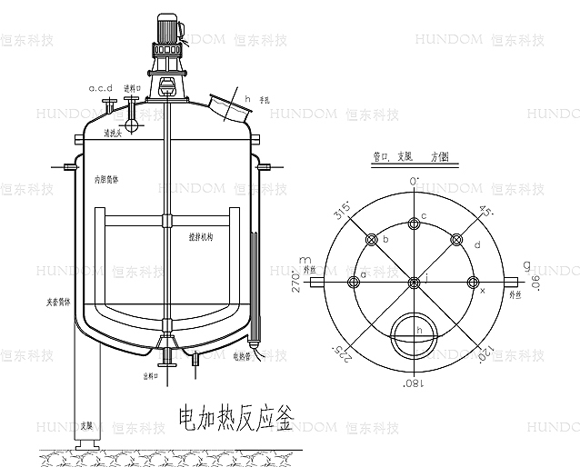 Stainless Steel Chemical Reaction Kettle/pressure Reactor