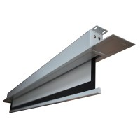 High Quality Ceiling Mount Pvc Material Motorized Tab ...