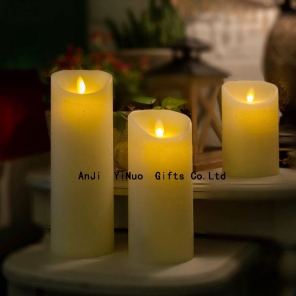 Wireless Inductive Rechargeable Led Candle With Remote
