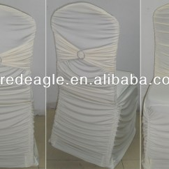 Wedding Chair Covers Alibaba Parson Bed Bath And Beyond Ruffled Spandex Cover Buy Ruffle