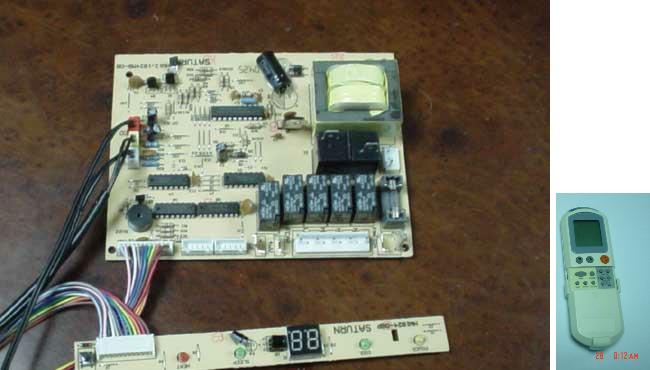 Build A Transistor Circuit Board For Controlling Air Conditioner
