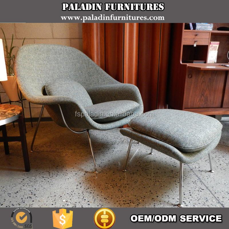 Grey Ergonomic Living Room Classic Design Leisure Womb