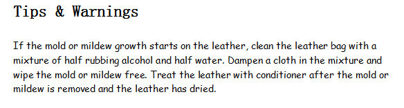 how to protect leather bag 2