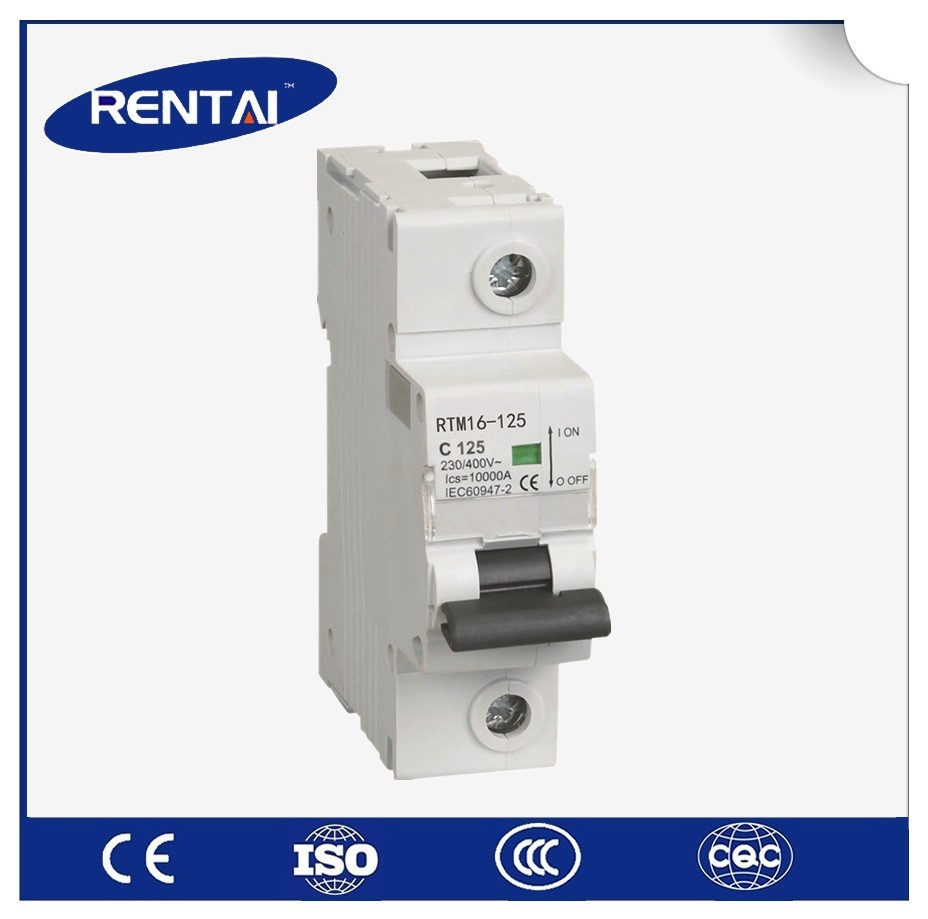 Circuit Breaker Iec 94724 Pole Mcb Miniature Circuit Breaker Product