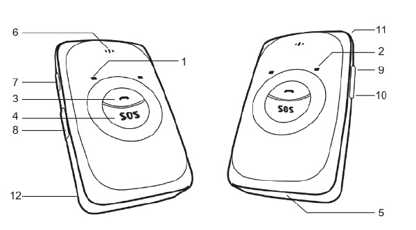 Portable Cheap Mini GPS Tracker with Long life battery