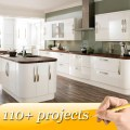 Free 3d design dubai waterproof kitchen cabinets direct from china