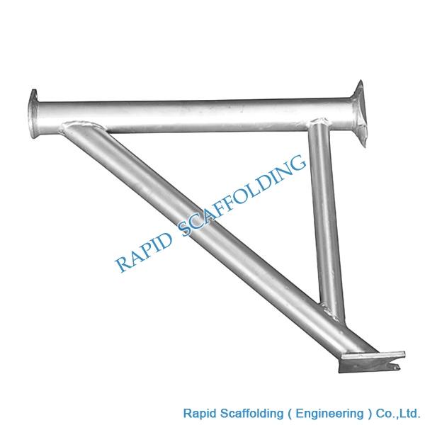 Used Steel Cuplock System Scaffolding Board Bracket Made
