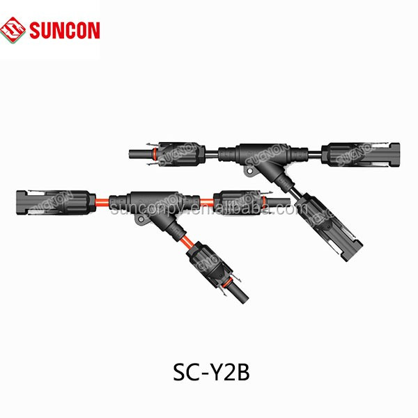 Solar Branch Wire Assembly Mc4 Connector With 2.5/4.0/6