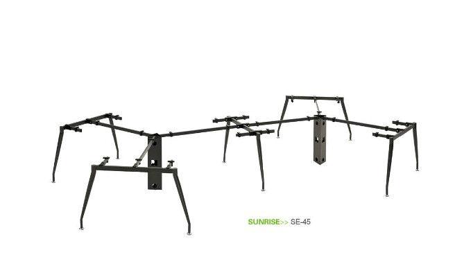 Unique Metal Furniture Legs For 6 Person Office Desk