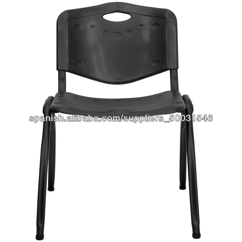 escolares en el aula de plstico sillas apilables de alta calidad