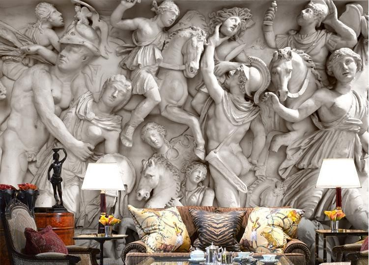 Ebay 3d Wallpaper Photo 3d Wallpaper Greek Roman Statues Art Mural Wall Paper