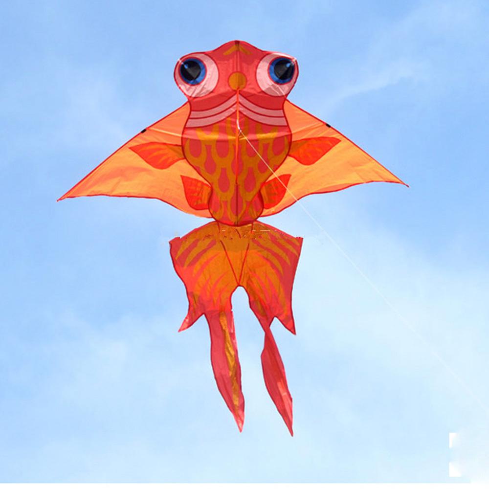 66 Inch Fish Kite Single Line Outdoor Fun Sports Toys