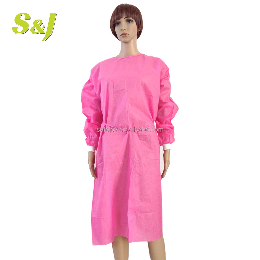 Medical Isolation Gown Yellow