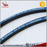 Flexible Hydraulic Hose Steel Reinforced Rubber Hose R2at ...