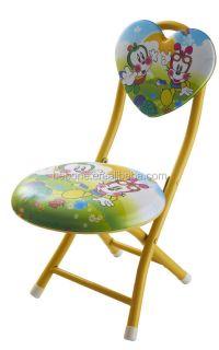 Colorful Children Folding Plastic Stool Kid Chair - Buy ...