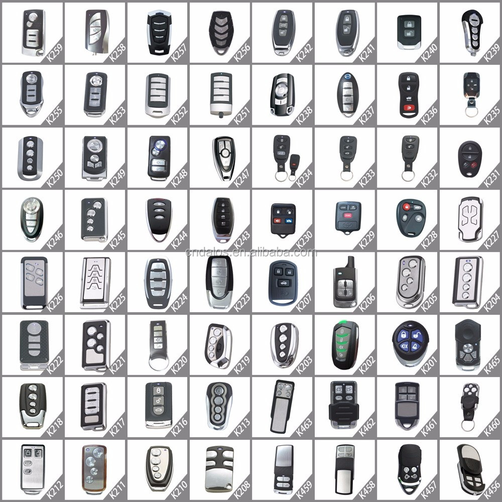 Keyless Entry System Car Alarms For Sale,Universal Remote