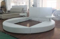 852#round Sofa Bed,King Size Round Bed On Sale