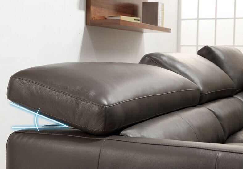 Moderne En Cuir Canap Set Pour Salon Meubles Style