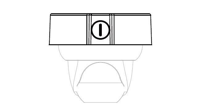Dahua Junction Box Model# Pfa130 Aluminum Ceilling Mount
