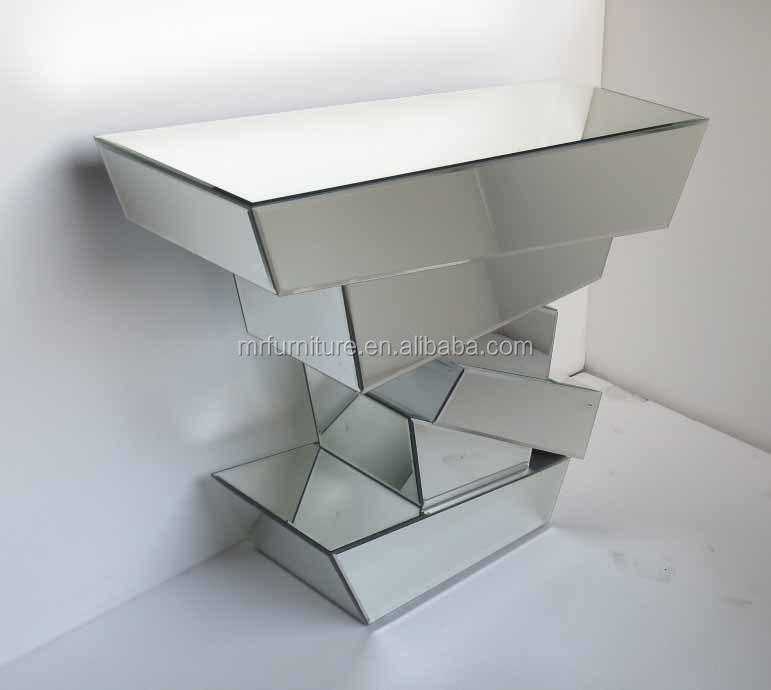 Design 3D miroir table de console avec miroirTables en verreID de produit1793785787french
