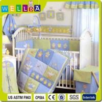 Team Snoopy Baby Crib Bedding Set For Boys