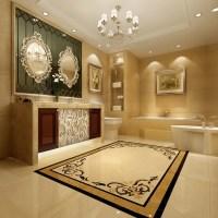 Turkey Yarisli Burder Beige Marble Floor Medallions Water ...