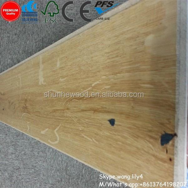 Unilin Click White Oak Laminated Wood Flooring
