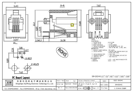 4p4c Plug Rj45 Jack,Rj45 Modular Jack Cat 5e/cat6/cat7
