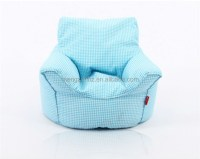 New colorful cotton fabric reading kids fancy bean bag ...