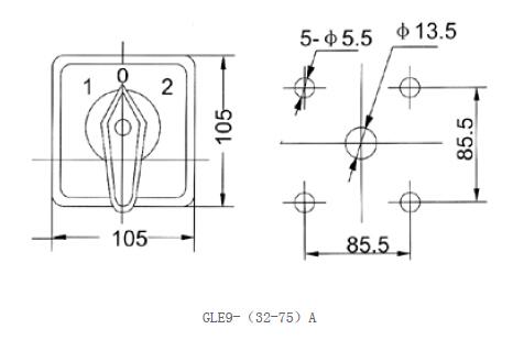 Gle9 potentiomètre rotatif avec interrupteur marche