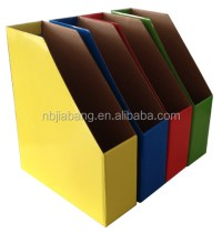 Foldable Corrugated File Folder Holder - Buy File Folder ...