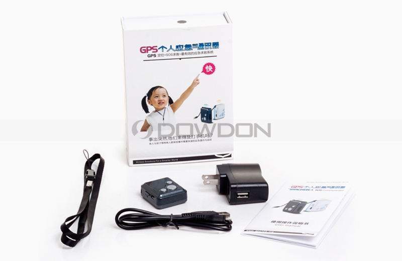 V16 Mini Personal Gps Locator Tracker Child Elderly Car