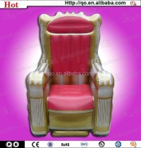 Latest Unique Design Princess Style Inflatable Throne ...