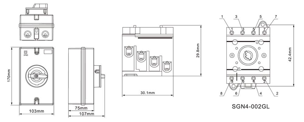 Saip/saipwell Quick Offer 600v 16a Dc Long Life Bar Fuse