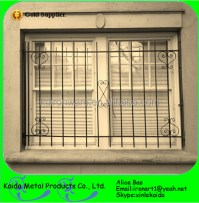 simple decorative wrought iron window grill designs for ...