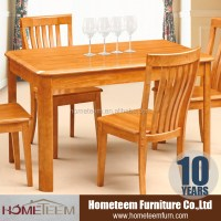 China Supplier Rubber Wood Used Restaurant Table And Chair ...