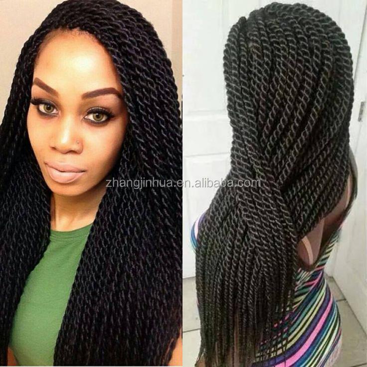 Human Hair Twist Braids