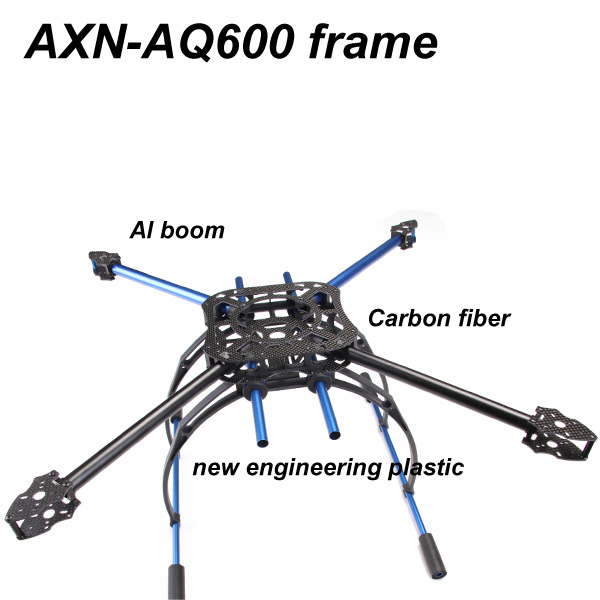 Rc Multi-rotor Quadrocopter Aq-600 For Fpv Flight