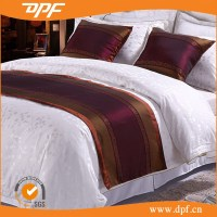 Dark Color Satin Decorative Bed Scarves And Runners - Buy ...