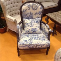 Painted Baroque Chair Antique Home Furniture Carved Wooden ...