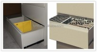 2 Drawer Furniture file cabinet drawer dividers shabby ...