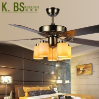 European Antique Ceiling Fan Light Living Roon Dining Room ...