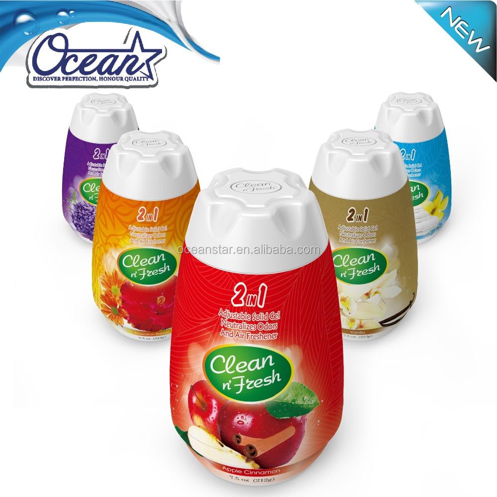 180g Gel Room Air Freshener/ Car Air Fresheners Wholesale
