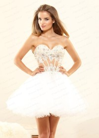 Short Puffy Prom Dresses | Cocktail Dresses 2016