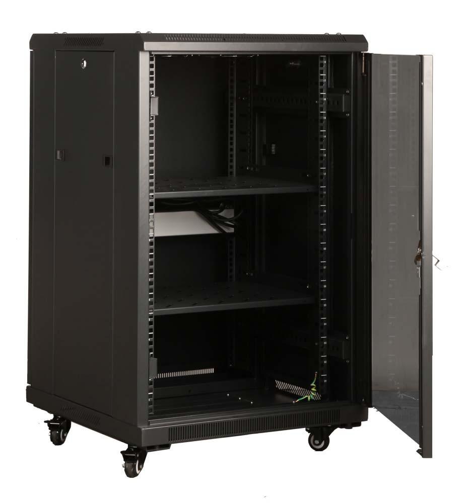 Weldon Laminate Network Cabinet Floor Standing Network