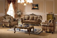 French Provincial Living Room Set - Zion Star
