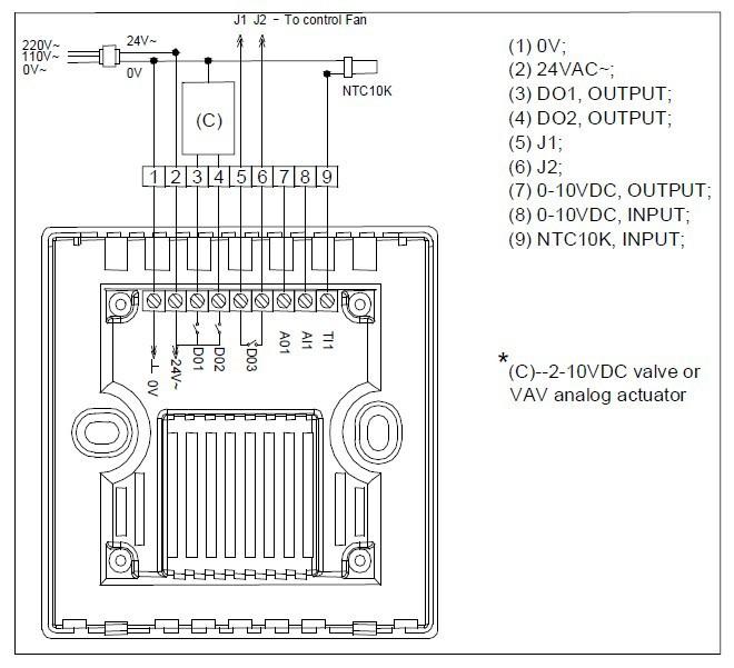Damper Actuator Wiring Diagram, Damper, Get Free Image