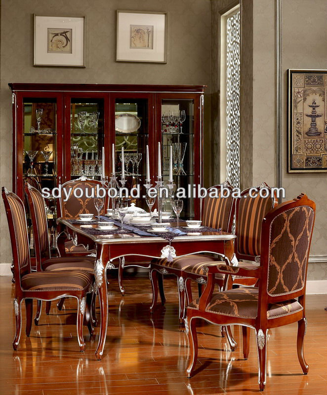 Neoclassic Yb06 Luxury Good Quality Dining Room Set