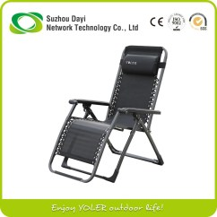 Zero Gravity Camp Chair Metal Vintage Chairs Yoler Luxury Lounge Folding Outdoor Camping - Buy High Quality ...